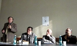 Prof Theodor Codreanu Nae Georgescu Grigore Lese Ilie Badescu Conferinta Eminescu