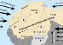 France EU US Russia Germany Libia Geopolitical Games Map