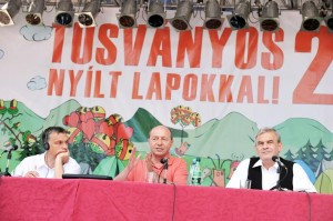 Orban Basescu Tokes Tusnad 2010