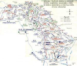Eliberarea Basarabiei si a nordului Bucovinei (iunie-iulie 1941)