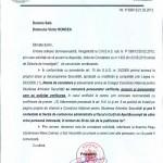 CNSAS blocheaza accesul la Dosarul de Securitate al doamnei Catrinel Plesu. Document oficial transmis publicatiei Ziaristi Online