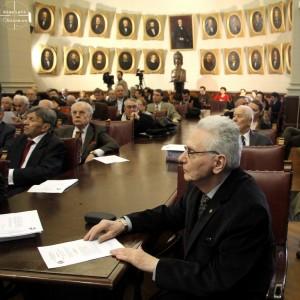 Profesorul Radu Ciuceanu la Academia Romana