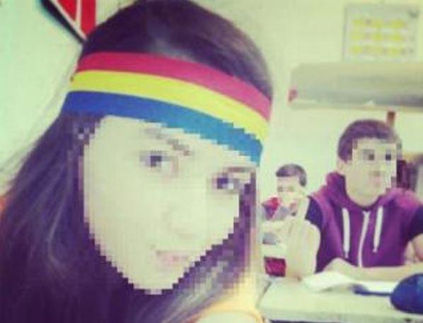 Eleva Sabina Elena din Covasna amenintat cu moartea pentru tricolor
