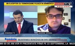 Dan Tanasa la RTV - Ziaristi Online