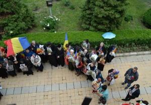 In apararea lui Valeriu Gafencu la Targu Ocna 30 Mai 2013