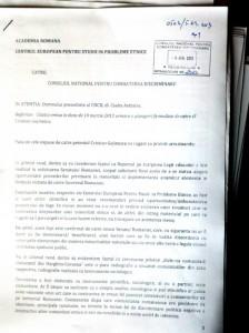 CNCD 5 Apr 2013 Discriminare Academie Ziaristi Online