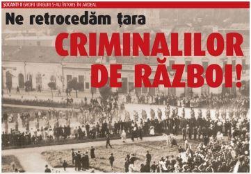 Retrocedari Transilvania criminali de razboi maghiari