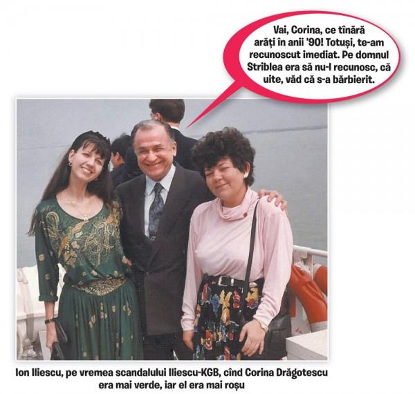 Corina Dragotescu si Iliescu KGB