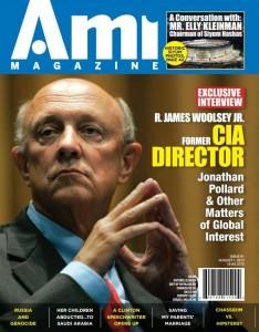 R. James Woolsey for Jonathan Pollard - Ami Magazine