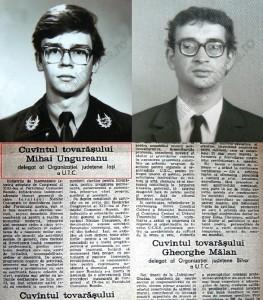 Ungureanu Mihai Razvan - Forta Civic - CC UTC - Traian Ungureanu - PDL - PCR - Scanteia Tineretului