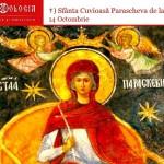 La praznicul Sfintei Cuvioase Maici Parascheva – mult folositoare. Smerenia şi milostenia – cale a îndumnezeirii – de Elena Solunca Moise