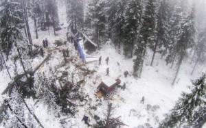 Accident aviatic Apuseni - Aura Ion - Iovan Dumnezeu sa-i ierte