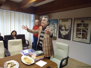 Dl Grid Modorcea la aniversarea a 70 de ani la UCIN - Foto Victor Roncea - Ziaristi Online