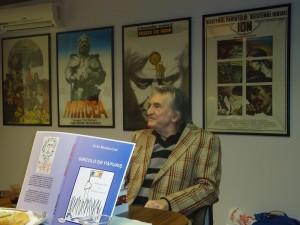 Dl Grid Modorcea la aniversarea a 70 de ani la UCIN cu Dincolo de papuris