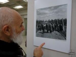 Ioan Matei Agapi si tovarasii Iliescu si Ceausescu la La Salonul Fotografului Roman 2013 - 2014