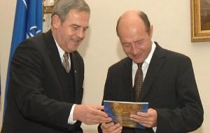 Laszlo Tokes la Cotroceni cu Traian Basescu