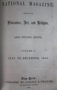 National Magazine Ianuarie 1854 Romania