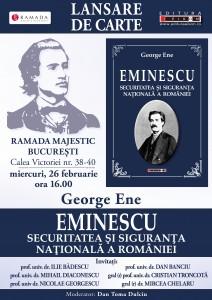 Eminescu – securitatea şi siguranţa naţională a României - Lansare Bucuresti 26 Feb 2014