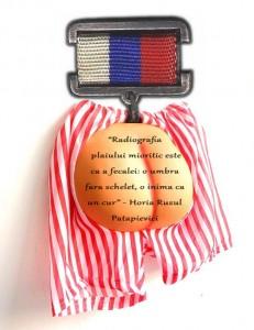 Decoratia acordata de Traian Basescu lui Horia Roman Patapievici - Ordinul Curului Clasa I