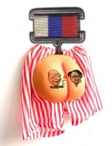 Decoratia primita de Horia Roman Patapievici de la Traian Basescu Ordinul Curului Clasa I