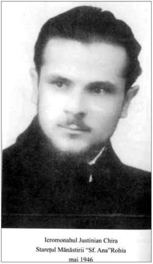 P Justinian Chira Staret la Rohia 1946