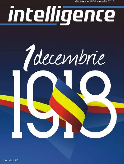 Intelligence Revista SRI Nr 28 - 1918