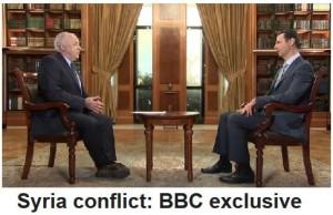 BBC Syria - Siria Interview w Bashar Al Assad Feb 2015 Jeremy Bowen