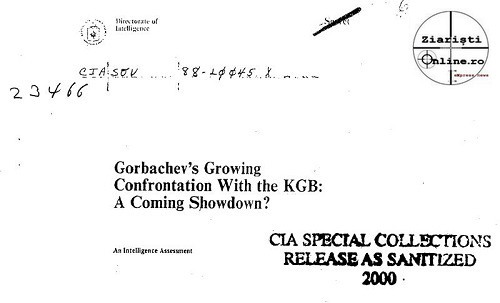 CIA Gorbaciov - Romania - Rusia - URSS - via Larry Watts