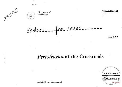 CIA Perestroyka - Ziaristi Online - Larry Watts - Romania