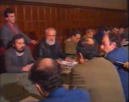 Gelu Voican - CADA - Armata la Guvern 12 Februarie 1990