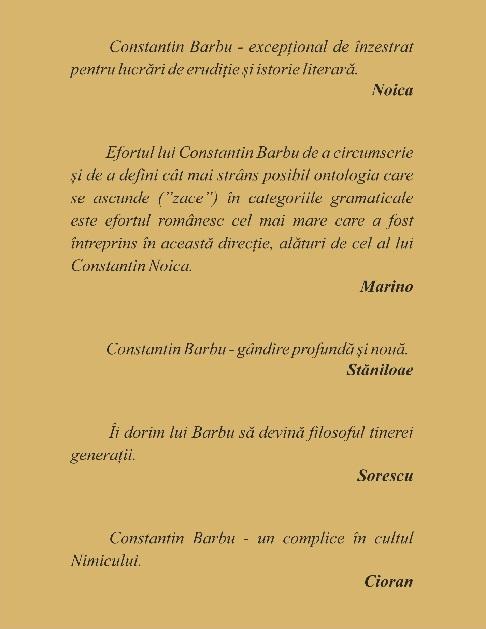 Despre Constantin Barbu