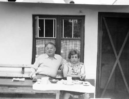 Gogu Radulescu si Dorina Rudich la Comana