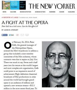 Peter Gelb Met Opera New Yorker