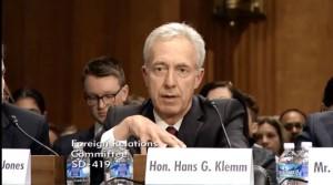 Ambasadorul SUA in Romania Hans Klemm