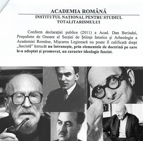 academia romana - miscarea legionara - fascism -eliade nae ionescu tradu gyr tutea crainic