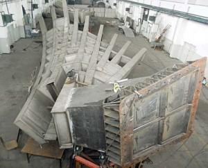 Aripile lui Mihai Buculei la fosta fabrica de rachete din Ploiesti