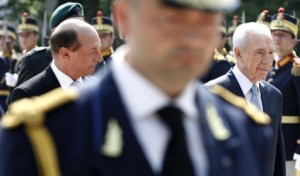 Basescu Shimon Peres Israel Romania