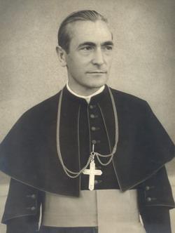 Marton Aron (1896-1980), consacrat ca episcop romano-catolic de Alba Iulia in februarie 1939