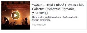 Concert satanist in Colectiv Club