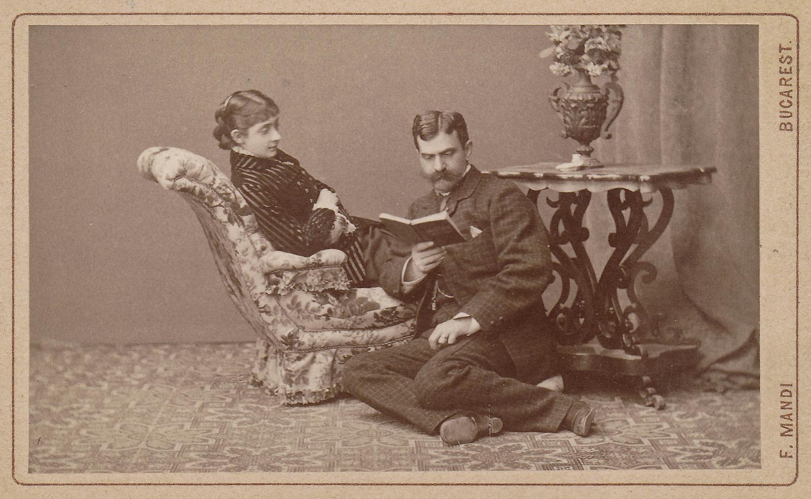Franz Mandy, familia Schina la începutul secolului XX