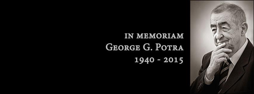 In Memoriam George Potra