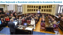 Ziua Nationala a Romaniei la Academia Romana 2015