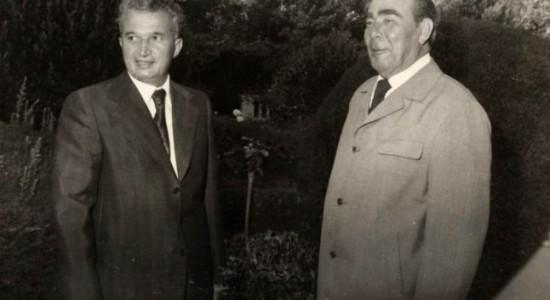 Ceausescu Brejnev