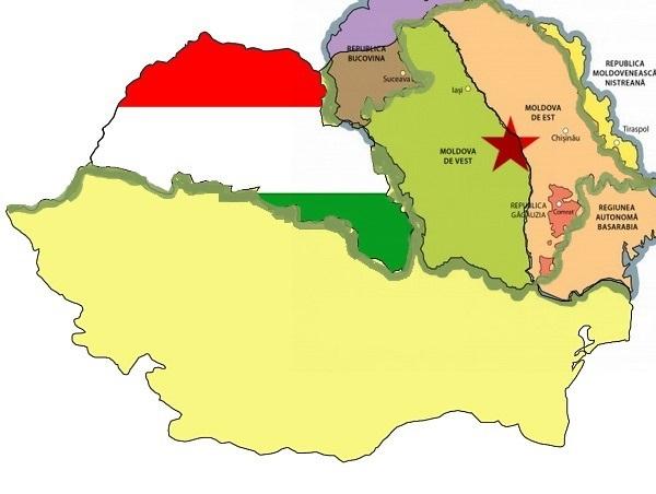 Dezbembrarea Romaniei - Ungaria mare - Moldova mare