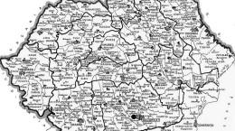 Romania Mare Harta 1936