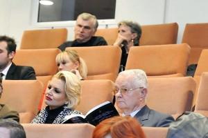 Virgil Magureanu lansare cu Dan Mihalache la Academia Romana