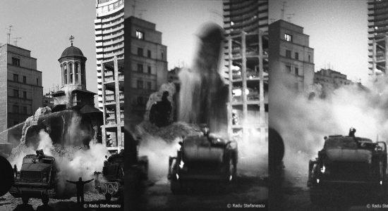 Demolarea Bisericii  Enei 1977 Foto c Radu Stefanescu
