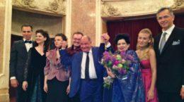 PAOLO ISOTTA si Mariana Nicolesco la Palatul George Enescu