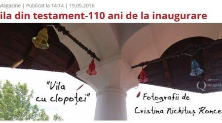 Vila Minovici redeschisa la 110 ani Foto Cristina Nichitus Roncea - Q Magazine
