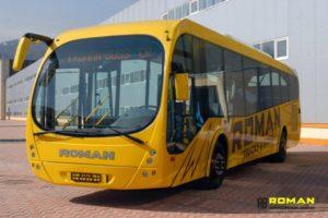 Autobuzele Roman nu au fost comandate in Romania